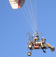 vuelo en paramotor en marbella